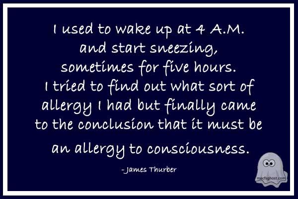Strange Allergies