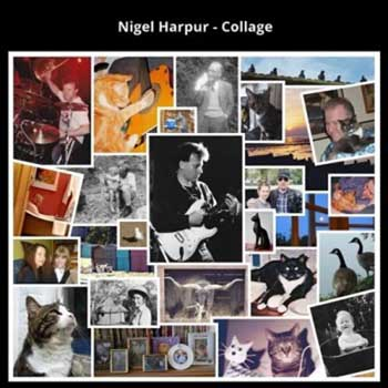 Collage by Nigel Harpur