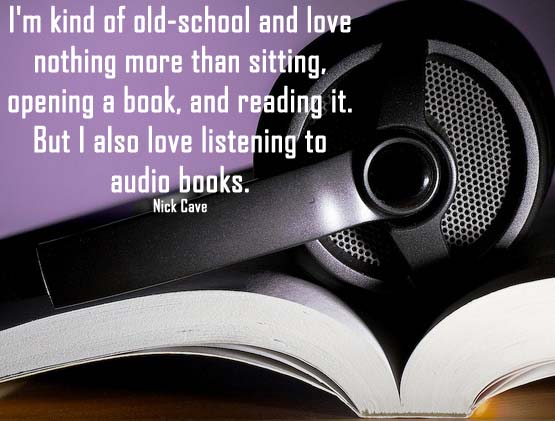 The joy of audio books when you have a chronic illness